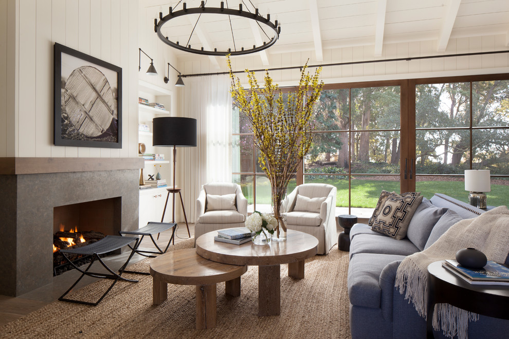 Decor inspiration modern farmhouse style living rooms - Modern farmhouse living room ...