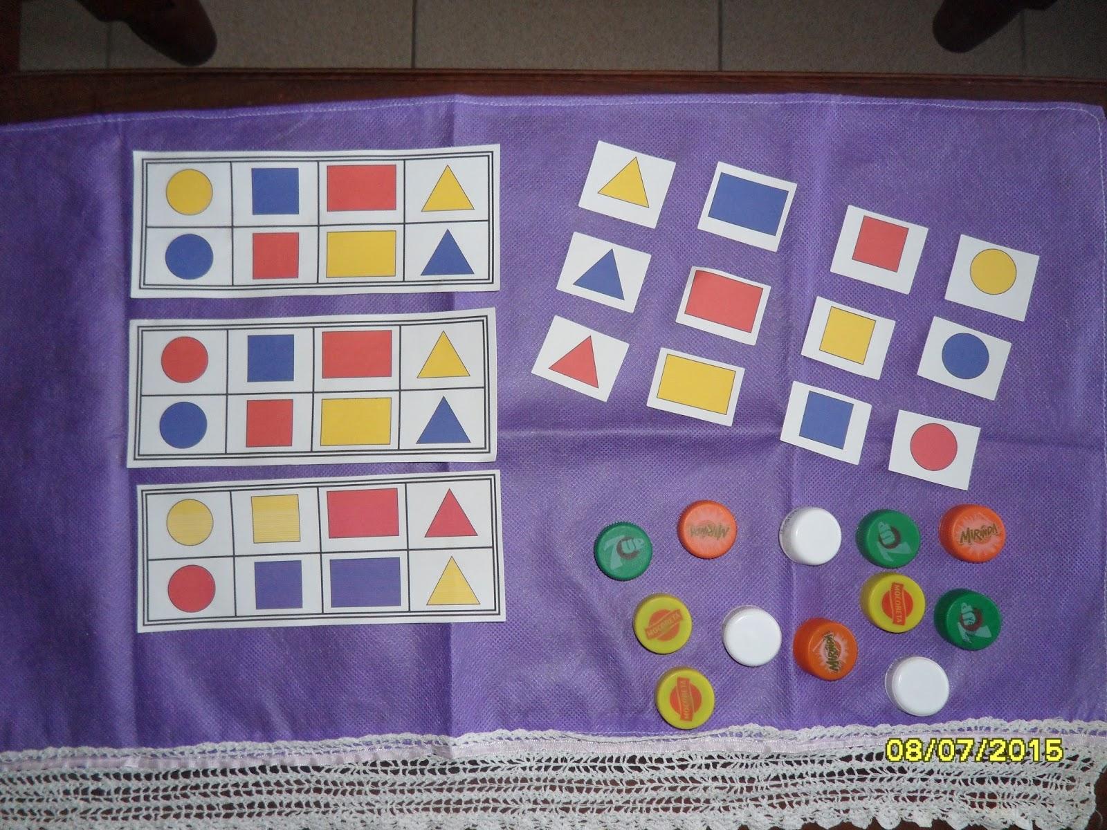 Preescolar Y Jardin De Infantes: Juegos Didacticos Para Jardin De Infantes Material