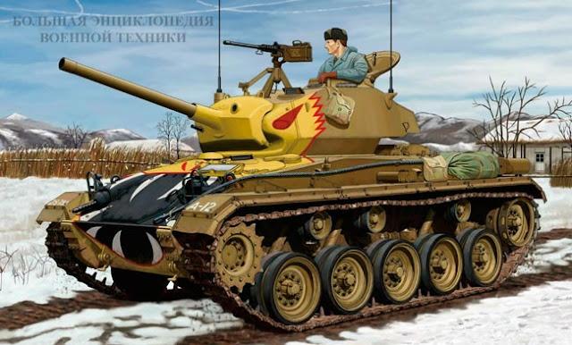 Легкий танк Light Tank M24 General Chaffee