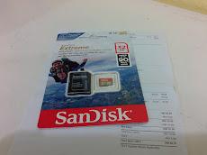 Sandisk extreme 32GB memory card @rm59.90 hanya di LAZADA