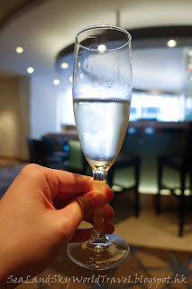 Celebrity Infinity 郵輪 Welcome drink