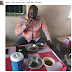 Nigerians Reacts Over Photo Of Sen. Dino Melaye Eating Ewedu & Amala