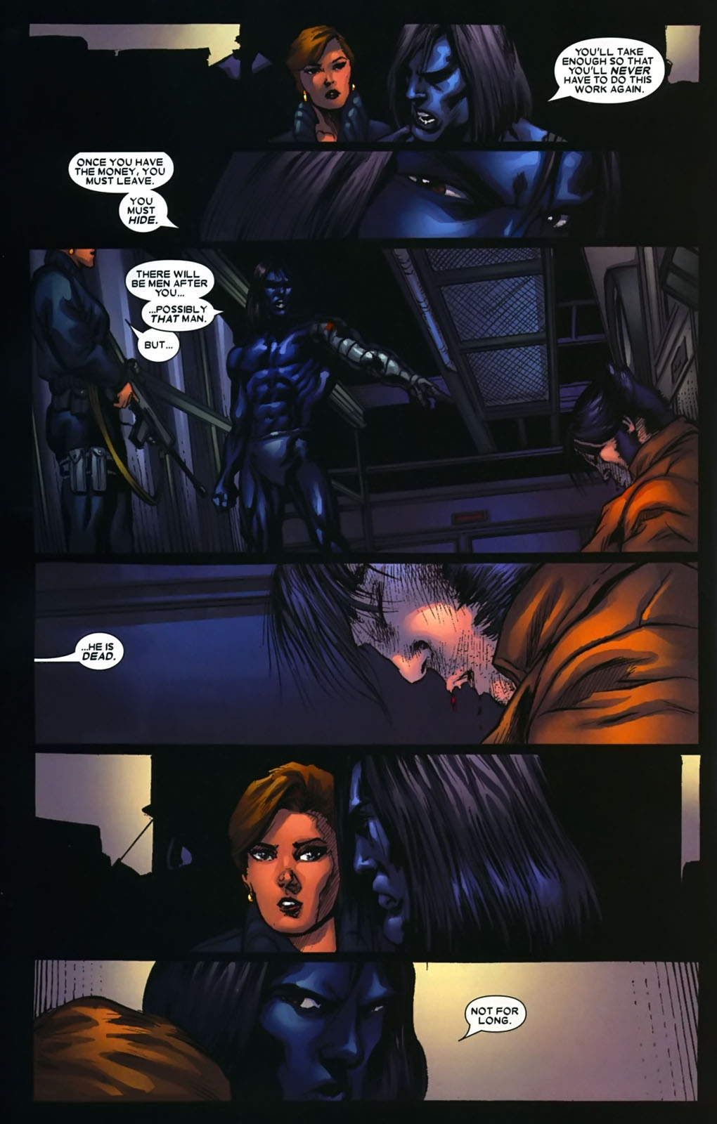 Read online Wolverine (2003) comic -  Issue #39 - 22