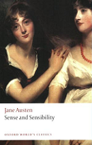 Sense and Sensibility by Jane Austen book cover