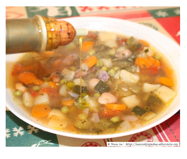 Classic Minestrone - Recipe by Mama Isa