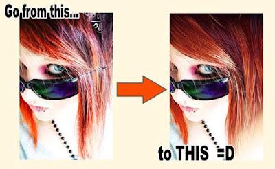 Trik Membuat Gambar Vector Rambut 7