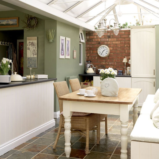 A conservatory can be a versatile addition to any house - by day a light-filled homely living space and by night a cosy place to curl up and relax. & New Home Interior Design: Conservatories
