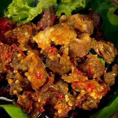 Oseng-Oseng Mercon Pedas Ala Yogyakarta