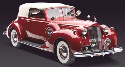 Pre 1950 Collector Cars 1938 Packard Twelve Convertible