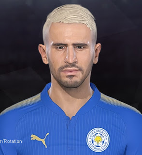 PES 2018 Faces Riyad Mahrez by Facemaker Tiitoo