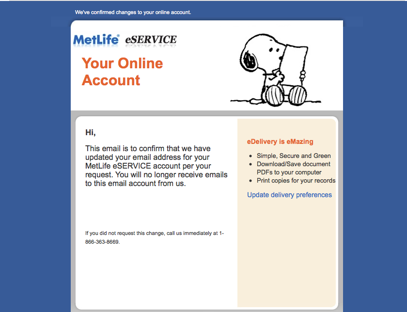Sign Up My MetLife Account Online Management of Insurance Policy