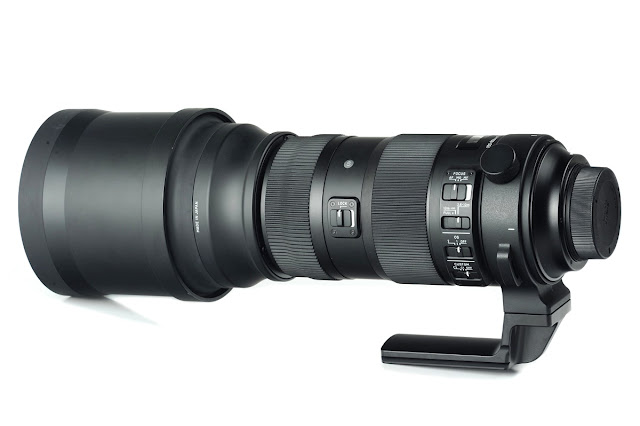 Sunwayfoto LF-M1 replacement foot on Sigma 150-600mm Sports full