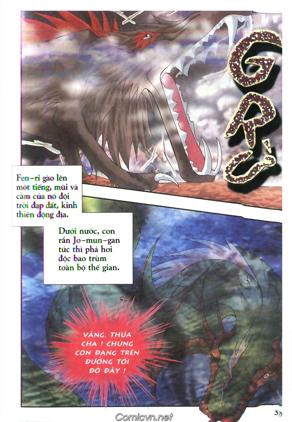 Thần thoại Bắc Âu - Chapter 48: Cuộc chiến Ragnarok - Pic 34