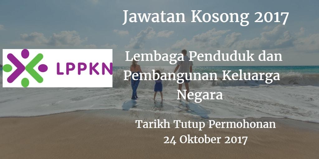 Jawatan Kosong LPPKN 24 Oktober 2017