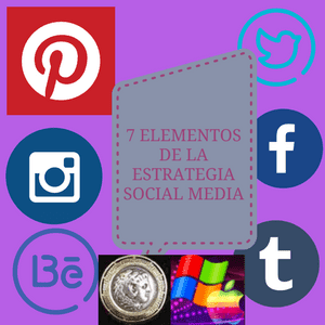 la estrategia con el poder de siete pasos en lo social media para tu empresa o marca