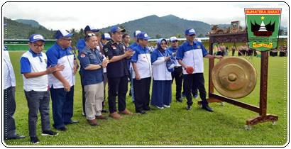 Irwan Prayitno Canangkan Bulan Bakti Karang Taruna TK. Provinsi