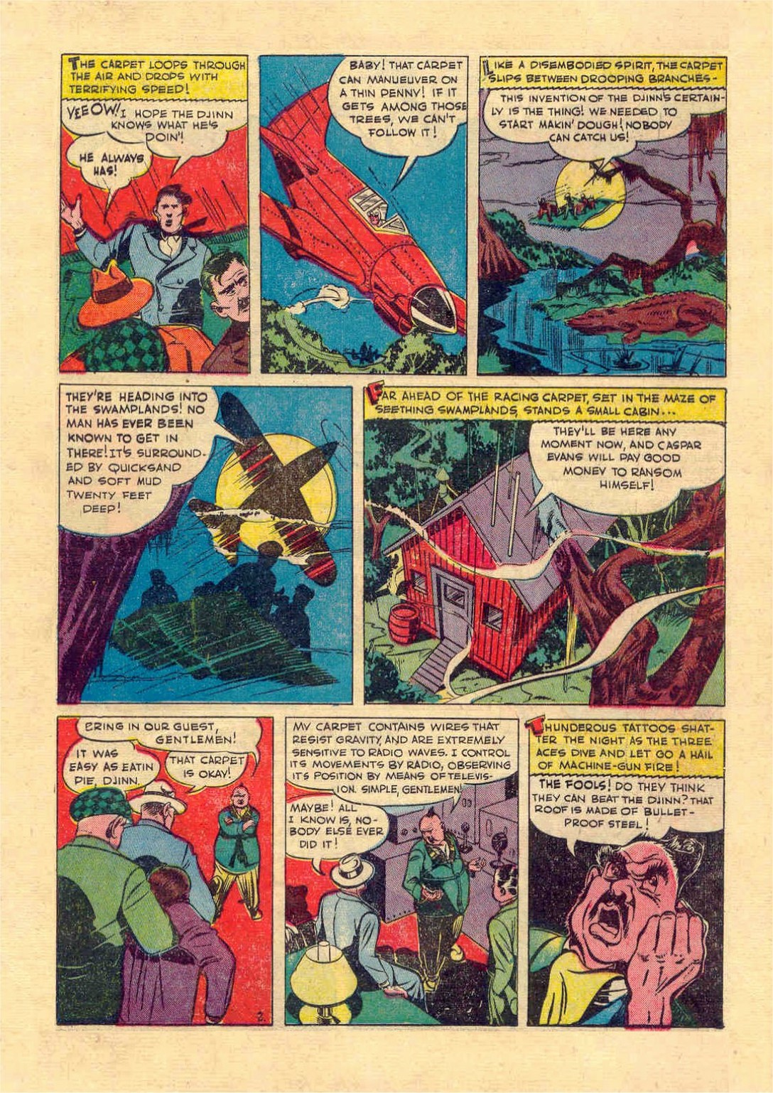 Read online Action Comics (1938) comic -  Issue #46 - 32