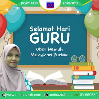 Selamat Hari Guru 2019 Cikgu
