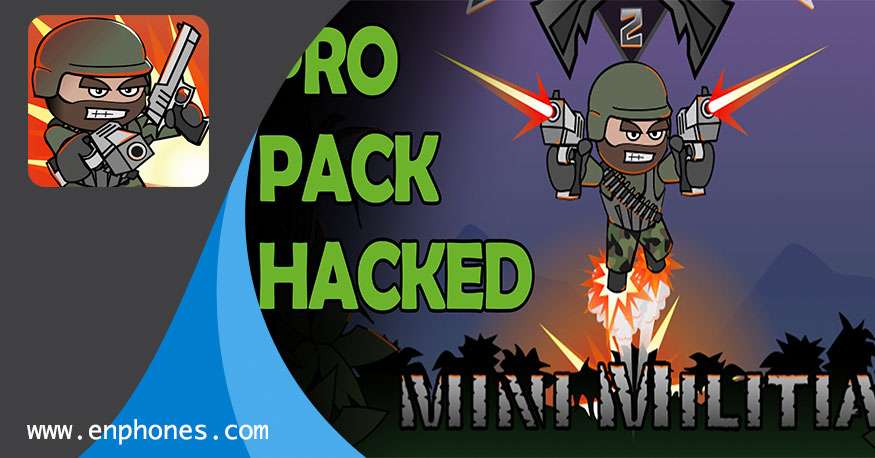 Download Mini militia mod apk with unlimited ammo and nitro