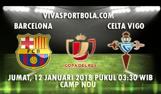 Prediksi Barcelona vs Celta Vigo 12 Januari 2018