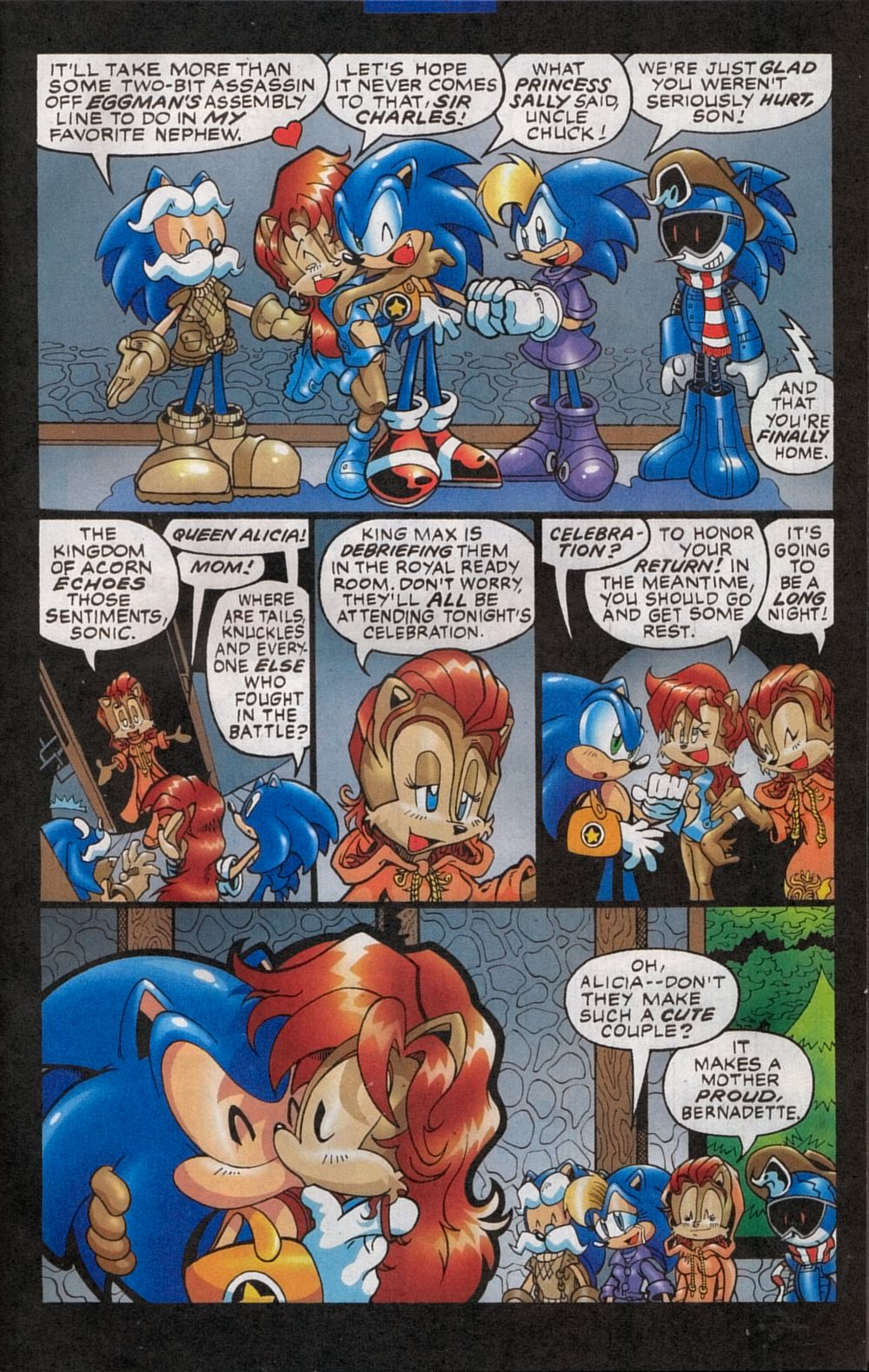 Read online Sonic The Hedgehog comic -  Issue #134 - 5