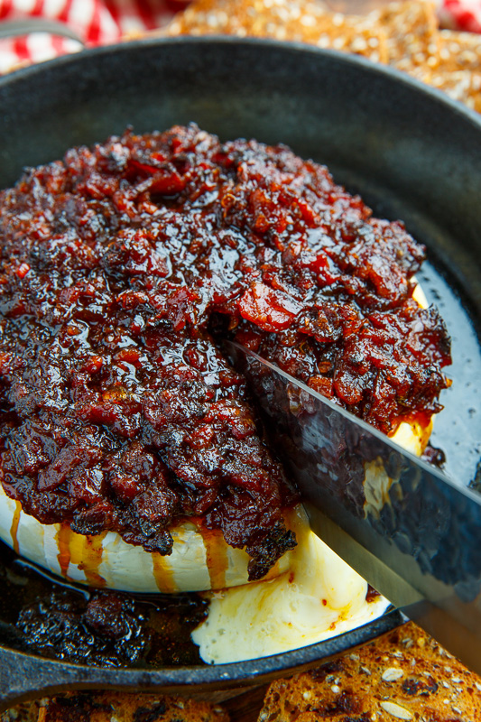 Bacon Jam Baked Brie