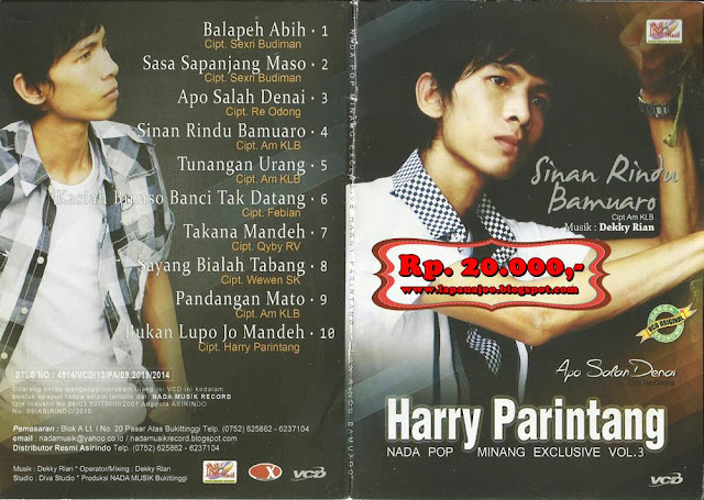 Harry Parintang - Apo Salah Denai (Album Nada Pop Minang Exclusive Vol 3)