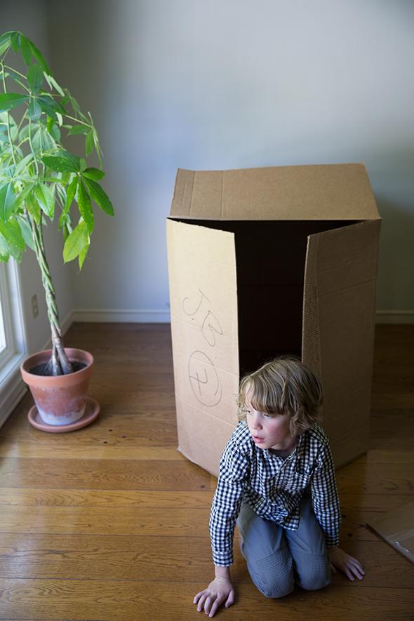 Diy Cómo Hacer Una Casa De Cartón Para Niños Handbox