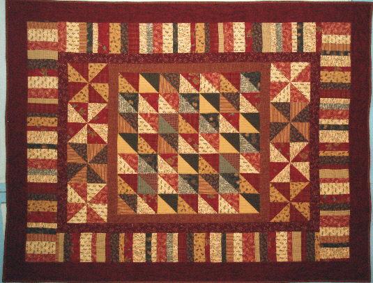 Exuberant Color Flannel Quilts