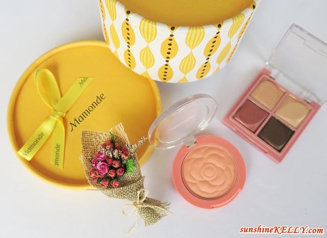 Journey of Flowers with Mamonde Flower Pop Eye Brick and Flower Pop Blusher