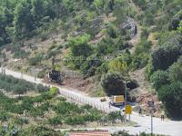 Rekonstrukcija ceste Postira - Dol slike otok Brač Online