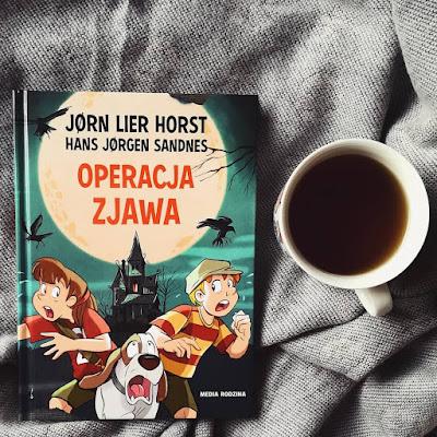 """""""Operacja Zjawa"""" Jørn Lier Horst, Hans Jørgen Sandnes"""