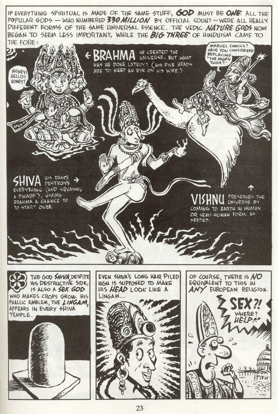 Read online The Cartoon History of the Universe comic -  Issue #8 - 26