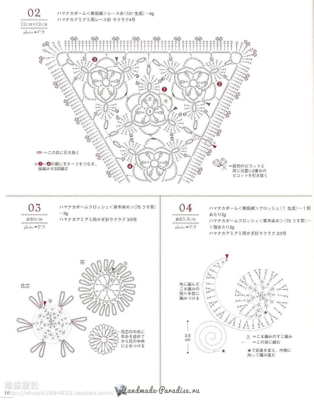 Вязание сумок из полиэтиленовой пряжи. Японский журнал (9)