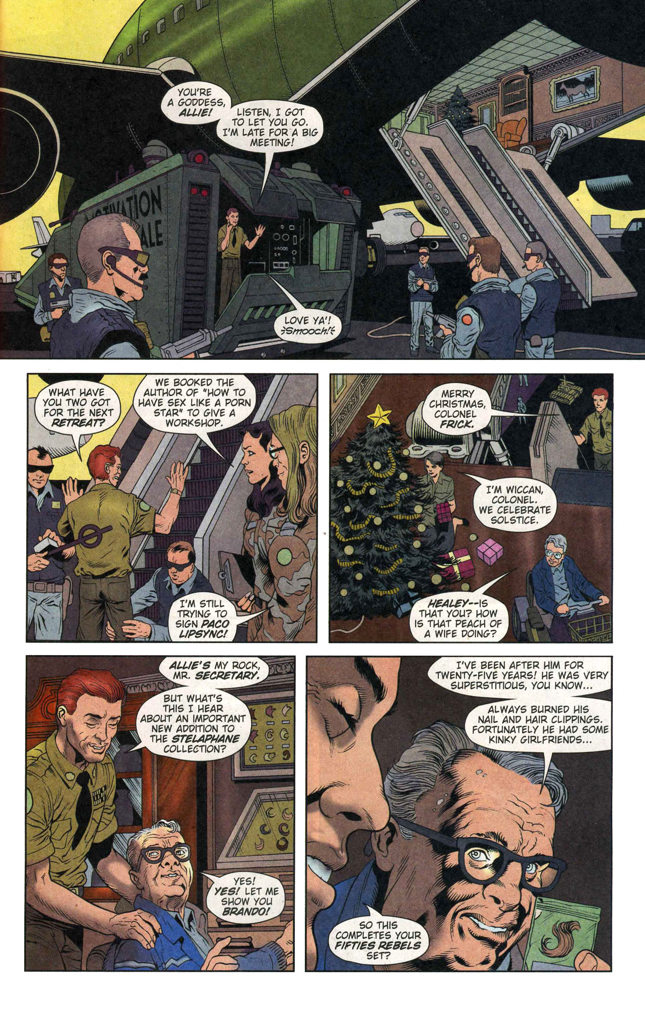 Read online Army @ Love comic -  Issue #1 - 21