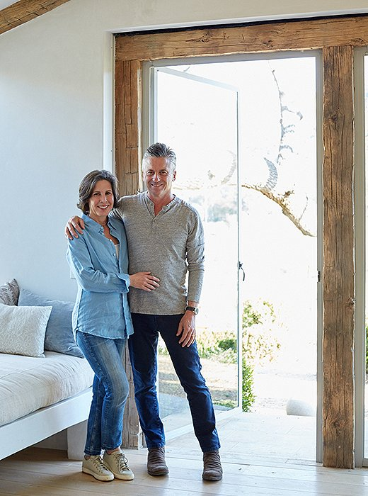 Brooke and Steve Giannetti at #PatinaFarm