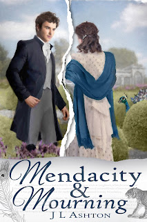Front Cover: Mendacity & Mourning by J L Ashton