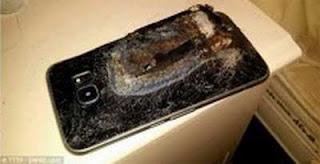 Kejadian Ponsel Android yang Meledak