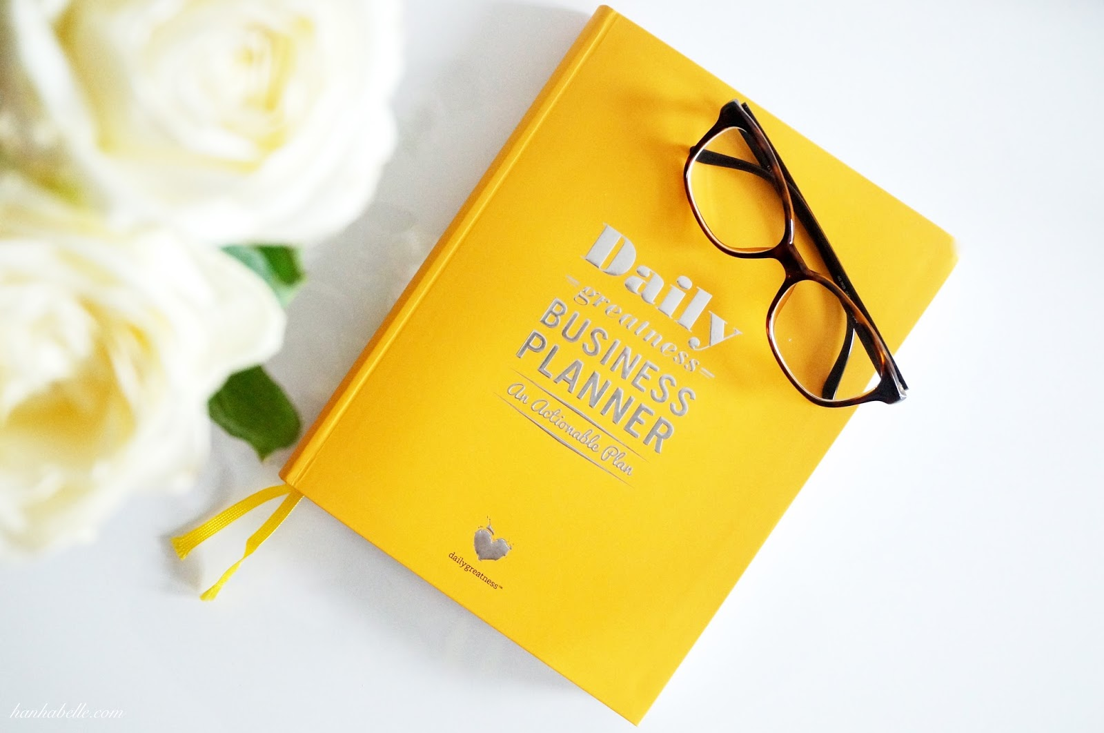 the dailygreatness business planner