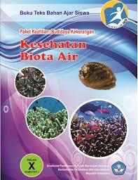Download Buku Paket Materi Pelajaran Kesehatan Biota Air Semester I SMK Kelas 10 .PDF