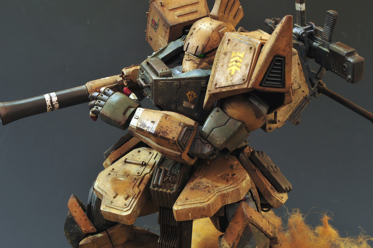 Custom Build: MG 1/100 Gelgoog