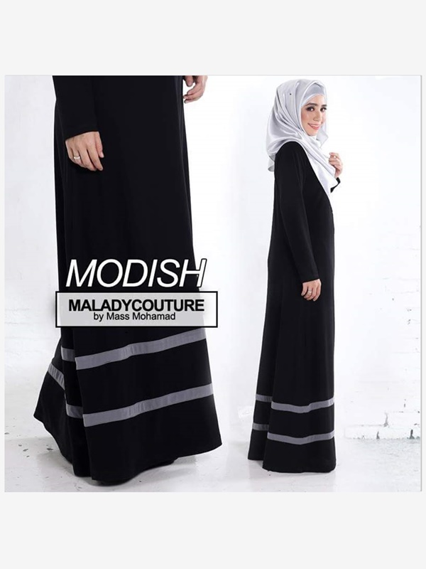 JUBAH DRESS MODISH PLUSSIZE - PRE ORDER
