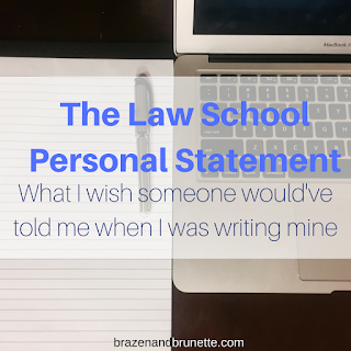 Personal Statement Advice | brazenandbrunette.com