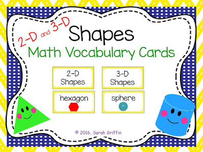 https://www.teacherspayteachers.com/Product/2D-and-3D-Shapes-Math-Vocabulary-Cards-1290945