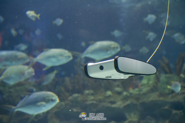 The Underwater Drone that will be used to document Redang Island Conservation Day 2018 @ The Taaras Beach & Spa Resort