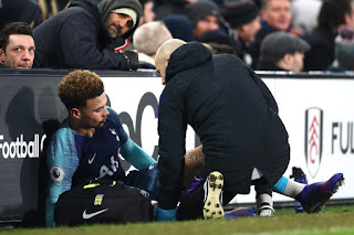 Dele Alli out until March with hamstring strain