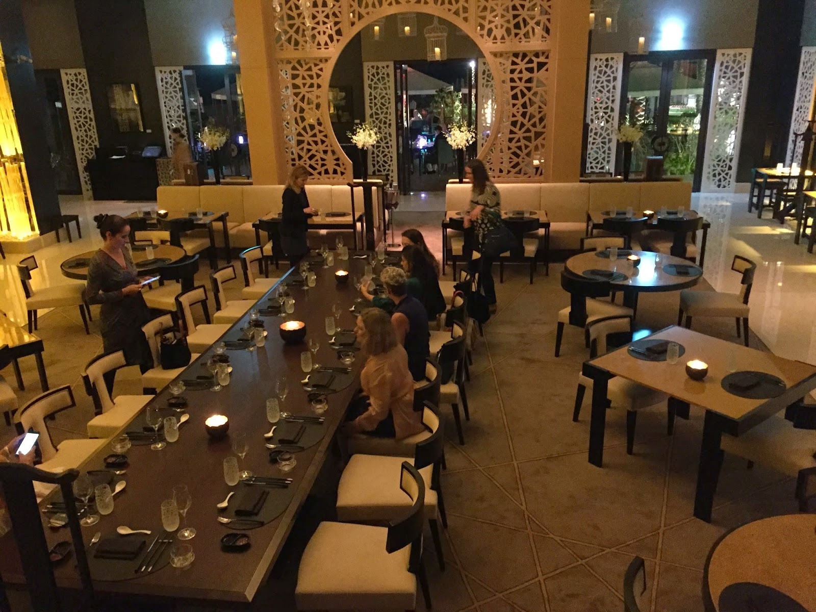 Bā Restaurant & Lounge: our table