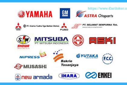 Lowongan SMA/SMK ASTRA GROUP Operator Produksi dan Staff