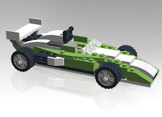 The design of three-dimensional LEGO Digital Designer 4.3.9