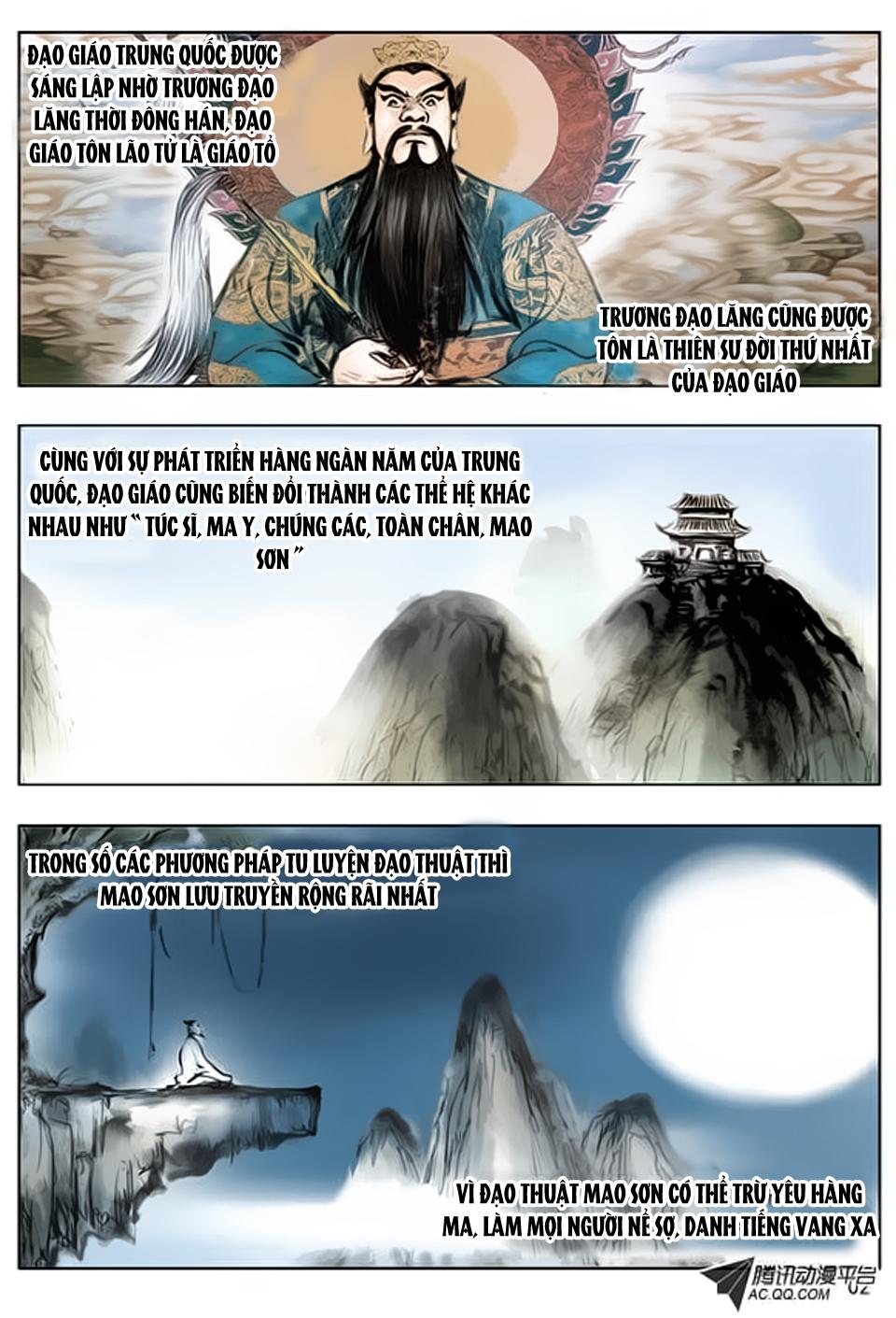 Trung Quốc Kinh Ngạc Tiên Sinh - Chap 1